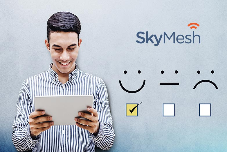 SkyMesh customer survey results are in! Find out how we did