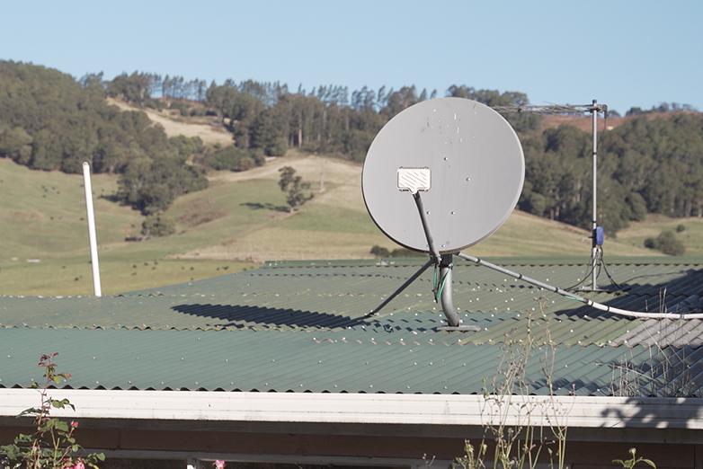 Sky Muster satellite dish