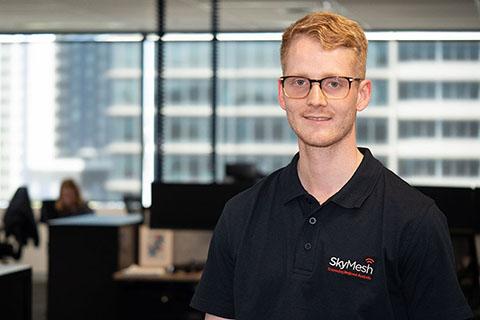 Mitch Eyles, SkyMesh Business Development Manager