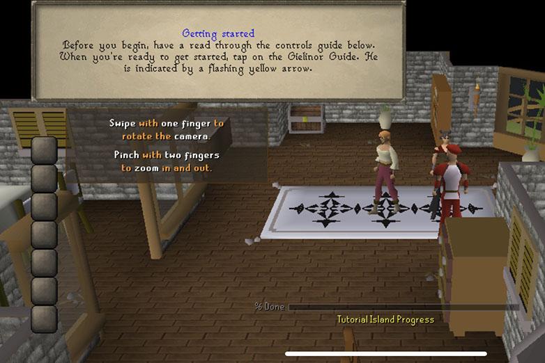 Screenshot from Old School Runescape