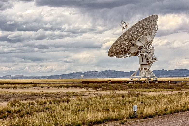 Ground Station Satellite Dish