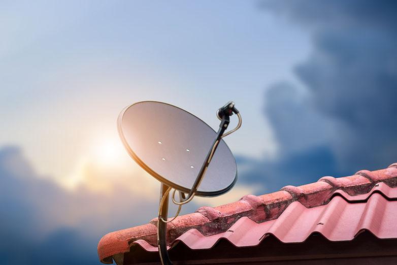 satellite internet dish