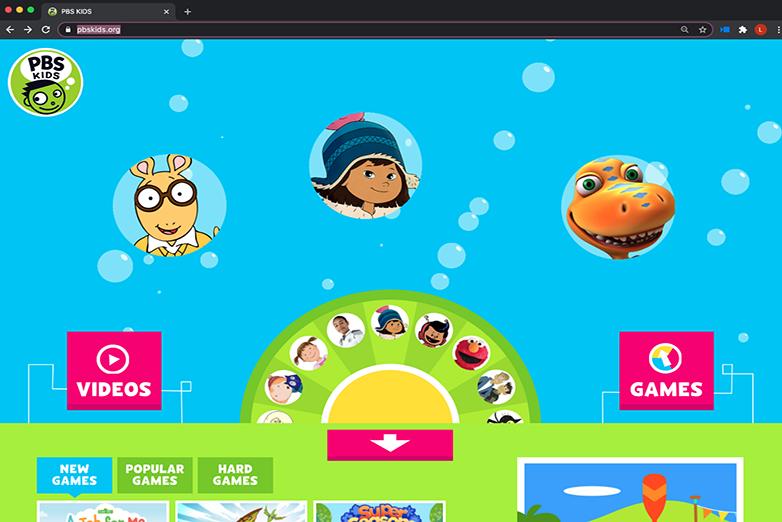 PBS Kids website