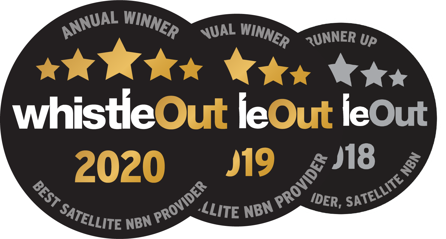 Skymesh wins whistleOut Best Satellite NBN provider 2019