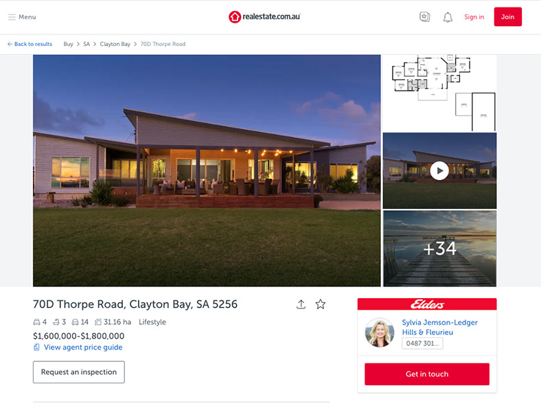 Property in Clayton Bay, South Australia