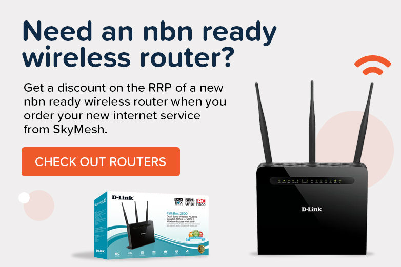 Check out routers sold by SkyMesh. Click here
