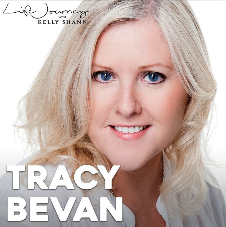 Life Journey TV Instagram account screenshot of post promoting interview with Tracey Bevan