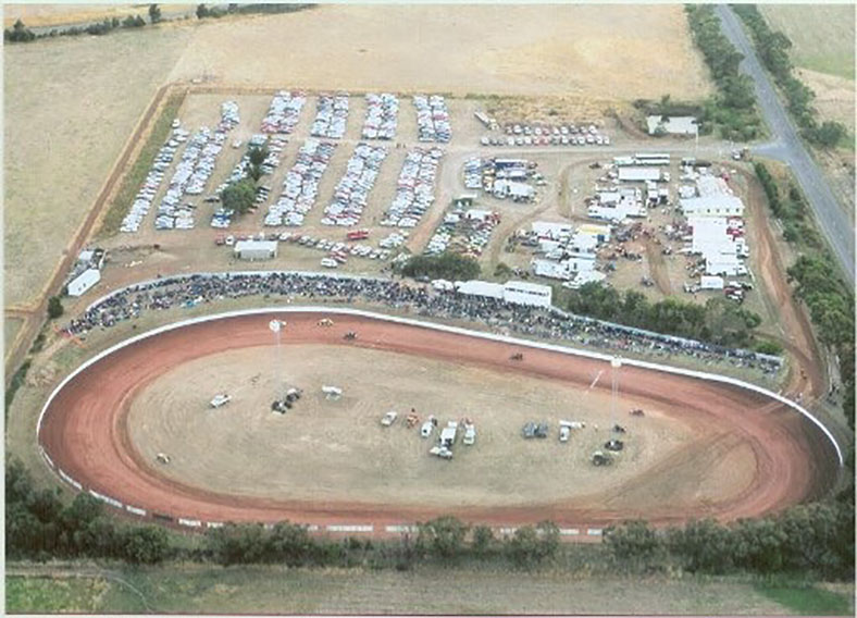 2020 Get Snapping competition entry from Steven Woolstencroft featuring a rural Australian speedway